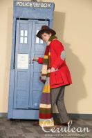 Doctor Who Photoshoot: The Forth Doctor by StrangeStuffStudios
