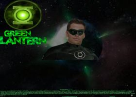 Green Lantern fan poster by SteveIrwinFan96
