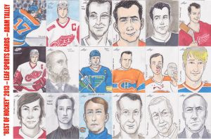Best of Hockey 2013 Leaf Cards by phymns