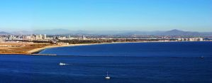 San Diego Skyline by fosspathei