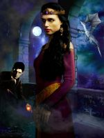 Morgana x Merlin Season 5 by Greenticky