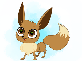 Eevee for AgentZoe by LucySpicyStrawberry