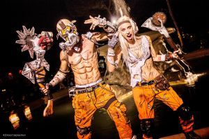 Psycho Krieg w\Psycho Cosplay - Borderlands 2 by LeonChiroCosplayArt
