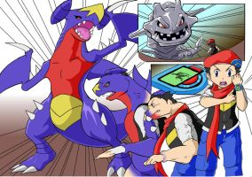 Garchomp Teransformation by nesise