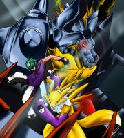 Digimon Team by kaizer33226
