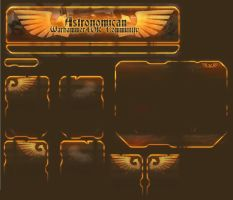 WH40k Site Design - Imperial by kwikky
