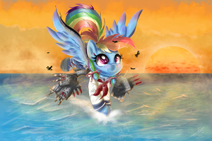 Kancolle Dashie by Shogundun