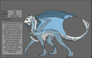 Dragon Character Entry by Bugskwisher