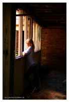 through the window pane. by cainess