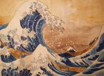 the great wave by hellzbellz666