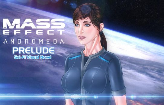 Visual novel Mass Effect:Andromeda Prelude by Eromaxi