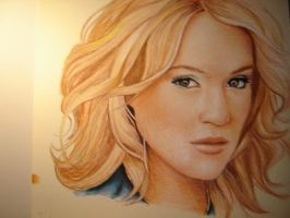 Carrie Underwood by prismacolorjessie