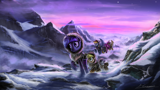 Friends in high places by Huussii