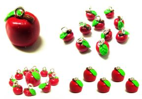 Apple Charms by Luna-Goodies