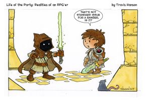 New Standard Ranger Swords... RPG Comic by travisJhanson
