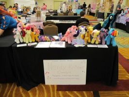 Everfree NW Table 2013 by NerdyKnitterDesigns