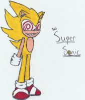 Evil Super Sonic by Chaocaster
