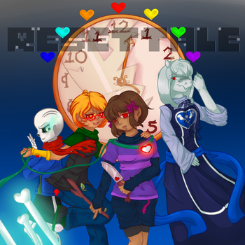 ResetTale Poster (contest entry) by AliceRandaLee