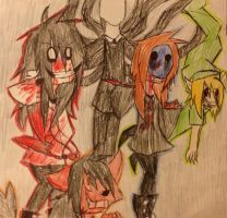 Five Favorite Creepypastas by FallenAngelKayaxx5