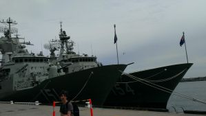 Frigates in Melbourne by 121199