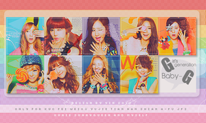120723 SNSD Baby-G Icon Set by Yinheart