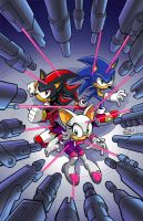 Sonic Universe 2 cover by Yardley