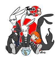 OLD- Tumor Bunny and Friends by girlunderwater
