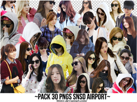 Pack 30 PNGs SNSD Airport_By Mynie by bttmy