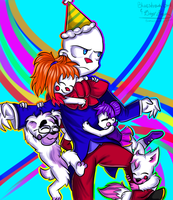Quality Time With Papa Ennard! (Collab) by DiaziKoix