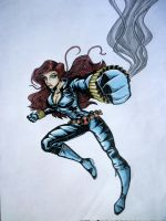 Black Widow - color by ajithm