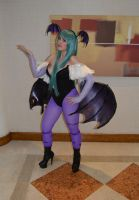 Morrigan Aensland - Darkstalkers - Kitacon 2014 by madevilman