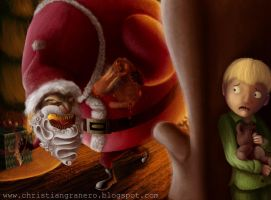 The return of Evil Santa by Granero