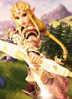 Princess Zelda of Hyrule by msr2209