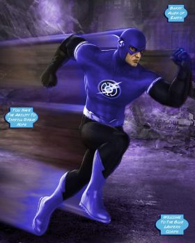 Blue Lantern The Flash by LeX-207
