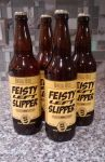 Brew Bee - Feisty Left Slipper IPA by tedbergeron