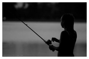 fishing by yourpeachy