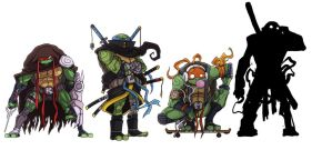 TMNT.Leo Updt by G-Chris