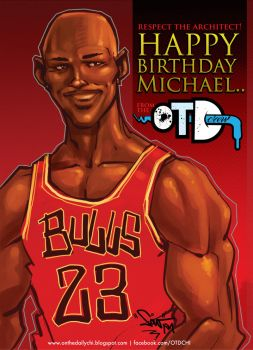 Happy BDAY MJ by OnTheDaily
