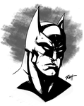 Batman-Sketch-2013 by RayHeight