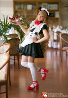 Maid: Caramel Kiss by MeiHousekiCosplay