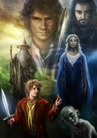 Hobbit: An Unexpected Journey by daekazu