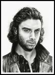Mitchell (Aidan Turner) by thewholehorizon
