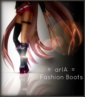 = arIA = Fashion Boots by Crystallyna