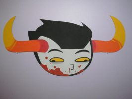 Tavros Nitram the Most Adorable Severed Head by TheChainsawUnicorn