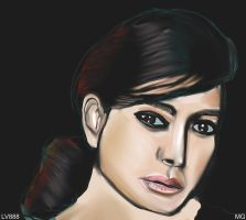 Woman face study n83 by lv888