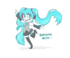 [VOCALOID] Hatsune Miku by JaidenAnimations
