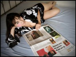 Newspaper time again by LaMusaTriste