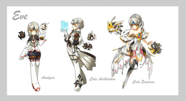Elsword Wallpaper 6 - Eve 2 by falsapersona99