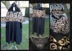 gothic cape by verdecasa
