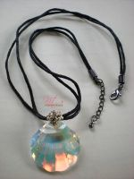 She Sells Seashell Necklace by sweetbabykit